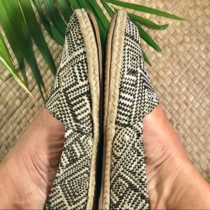 Shoes - Shoes espadrilles brown black gold size 10
